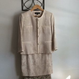 2 piece jacket and skirt